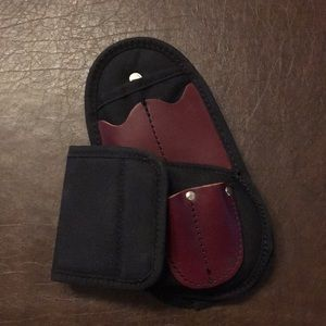 Clip on essential holster